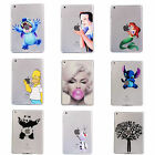 Cartoon Transparent Hardshell Rugged Smart Case Cover For Tablet iPad Series