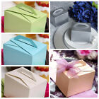 "200 pcs 4x3x3"" Wedding FAVOR BOXES with Handles Party Decorations Wholesale"