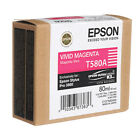 GENUINE EPSON STYLUS PRO T580A VIVID MAGENTA ORIGINAL INK CARTRIDGE (C13T580A00)