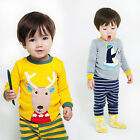 "Vaenait Baby Toddler Kids Boy Clothes Sleepwear Pyjama Set ""Penguin&Deer"" 12M-7T"