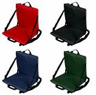 4 LOT Folding Padded Canoe Kayak Stadium Seat Back Support Cushion 4 COLORS