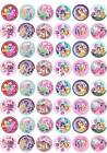 MY LITTLE PONY Birthday Cup Cake Fairy Bun Toppers Edible Premium Wafer
