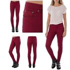 Womens Casual High Waist Supper Skinny Fit Slim Stretch Comfy Jeggings Jeans
