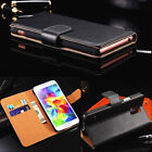 Premium Leather Stand Flip Book Wallet Case Cover For All Samsung Galaxy Models