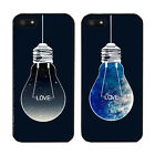 iPhone 6/ 6Plus Case Cover Hard Fitted Synthetic Leather Love Universe Bulb