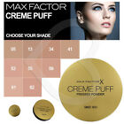 Max Factor Crème Puff Face Compact Pressed Powder Brand New All Shades 21g