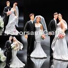 Wedding Cake Topper Love Favors Figurine Decorations Bride and Groom Decor