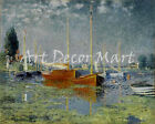Argenteuil by Monet - CANVAS OR PRINT WALL ART