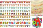 NEW HAPPY BIRTHDAY BUNTING PARTY BANNERS CELEBRATIONS VARIOUS DESIGNS