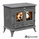 Royal Fire™ High Efficient Cast Iron Multifuel Woodburning Stove Collection