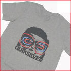 QUIKSILVER T-Shirt MENS *Size: S* GREY Short Sleeve NEW Top Authentic Brand Sale