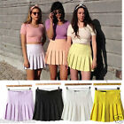 CelebStyle High Waisted Pleated Tennis Mini Skirts