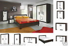 New Bedroom Furniture Set Wardrobe Chest of Drawers Cabinet Bed Dressing Table
