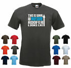 'This is What an Awesome Roofer Looks Like' Funny Roofing Birthday Gift t-shirt