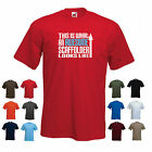'This is What an Awesome Scaffolder Looks Like' Funny Birthday Gift t-shirt Tee