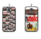 Funny Nutella Wrapper Pattern Case Cover For Samsung Galaxy S5