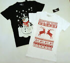 PRIMARK MENS CHRISTMAS T SHIRT TEE SHIRT T TOP SNOWMAN REINDEER NEW UK XS - XXL