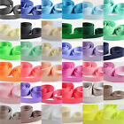 25mm GROSGRAIN RIBBON *43 COLOURS* WEDDING INVITE DUMMY CLIPS CRAFTS GROSS GRAIN