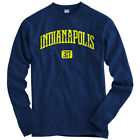 Indianapolis 317 Long Sleeve T-shirt LS - Indiana Pacers 500 Colts - Men   Youth