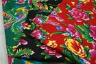 "59""w 100%cotton fabric phoenix peony flowers chinese national ethnic pattern"