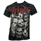SLIPKNOT - MASKS - OFFICIAL MENS T SHIRT