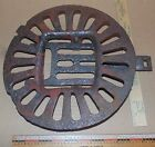 Antique Comstock cast iron pot belly fire shaker - replace - Decor -Steampunk