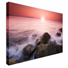 Sunset on a lush ocean Canvas wall Art prints high quality great value
