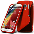 S Line Wave Gel Silicone Case Cover For Motorola Moto G3