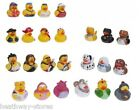 NOVELTY RUBBER BATH DUCKS KIDS TOY BATHTIME PADDLING POOL PIRATE DOG ROCK BAND