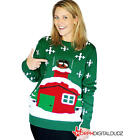 Morphsuits Womens Stuck Santa Christmas Sweater Halloween Costume - Adult Sz