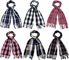 Ladies Checked Tartan Design Scarf 6 Colours £3.99