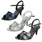 Ladies Annemichelle Strappy Sandals Style -  F10159