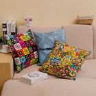 Kaleidoscope Garland 100% Cotton Canvas Decor Cushin Cover Pillowcase 45x45cm
