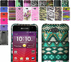 Polycarbonate Snap-on Hard Case Cover For Kyocera Hydro Wave C6740 C6740N Phone