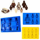 Silicone Lego Man Minifigure Mold Ice Cube Tray Chocolate Maker Jelly Mould Gift
