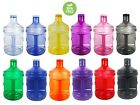 BPA Free 1 Gallon Plastic Water Bottle Container Drinking Canteen Jug Color H2O  for sale  Shipping to Canada