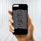 Joy Division Unknown Pleasures White Black Manchester Love Tear Phone Cover Case