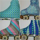 INTERMEZZO BRIGHT COTTON LYCRA ICE ROLLER SKATING BOOT COVERS XL SIZE