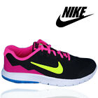 NIKE FLEX EXPERIENCE Girls Big Kids Ladies 749818-007 Black Running Shoes UK 3-6