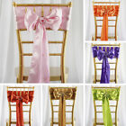 300 x WHOLESALE Lot Satin CHAIR SASHES Ties Bows Wedding Party Decorations SALE