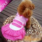 1PCS Pet Dog Puppy Clothes Maid Clothes Lovely Dress Teddy Clothes Pet Supply