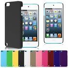 Thin Hard Rubberized Plastic Back Case Cover For Apple iPod Touch 5 / Touch 6