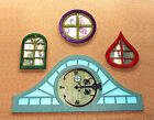 Fairy-Nymph-Sprite Door-Home-House 6 Pc Kit Full Gothic hinge 2 sizes MDF or Ply