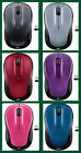 New 2017 Logitech M325 Optical Wireless Mouse / Blue Red Silver -retail packing