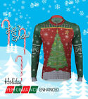 Aero Tech Designs Ugly Christmas Sweater Cycling Jersey Bike Jersey USA Made