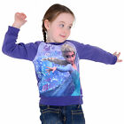 "Girls Christmas Xmas Jumper Sweater - Disney Frozen Elsa ""Lets Make Some Magic"""