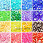 1000 x Quality Resin Jelly AB Flat Back Rhinestone Diamante Gems Nail Art Crafts