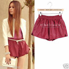 CelebStyle Loose Fit Faux Leather Shorts Hotpants