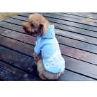 Pet Clothes Dog Puppy Warm Sweater Hoodie Coat Jacket Costume adidog XS-XXL