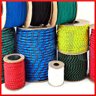 Polypropylene Rope Braided Poly Cord Line Sailing Boating Camping Climbing Yacht